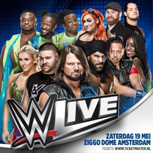 ISA beveiligt show WWE Live Smackdown